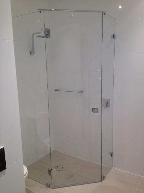 45 Degree Corner Shower